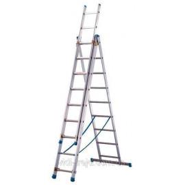 Лестница ТUBESKA Starline 3х11, Франция. складная лестница. лестница складная