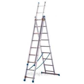 Лестница ТUBESKA Starline 3х12, Франция. выдвижная лестница. выдвижная лестница. лестница алюминиевая