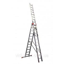 Трехсекционная лестница KRAUSE MONTO Tribilo 3x12