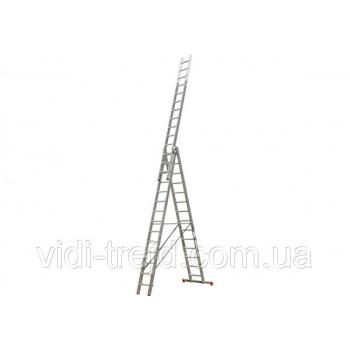 Трехсекционная лестница KRAUSE MONTO Tribilo 3x14