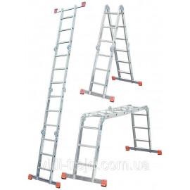 Лестница-трансформер 4х5 KRAUSE Monto