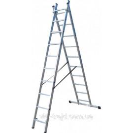 Лестница 2-х секционная 2х10, ELKOP Словакия