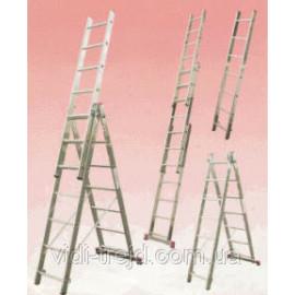 Трехсекционная лестница KRAUSE Corda 3x6